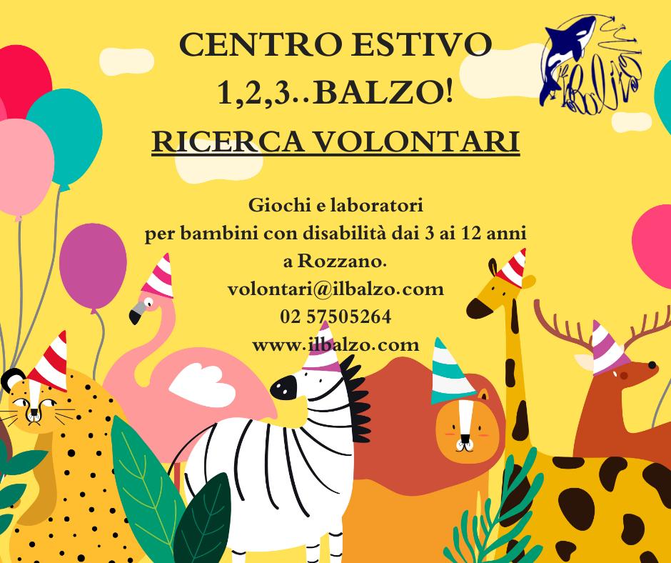 Ricerca volontari a Milano 2020